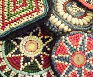Imported Beaded Medallions
